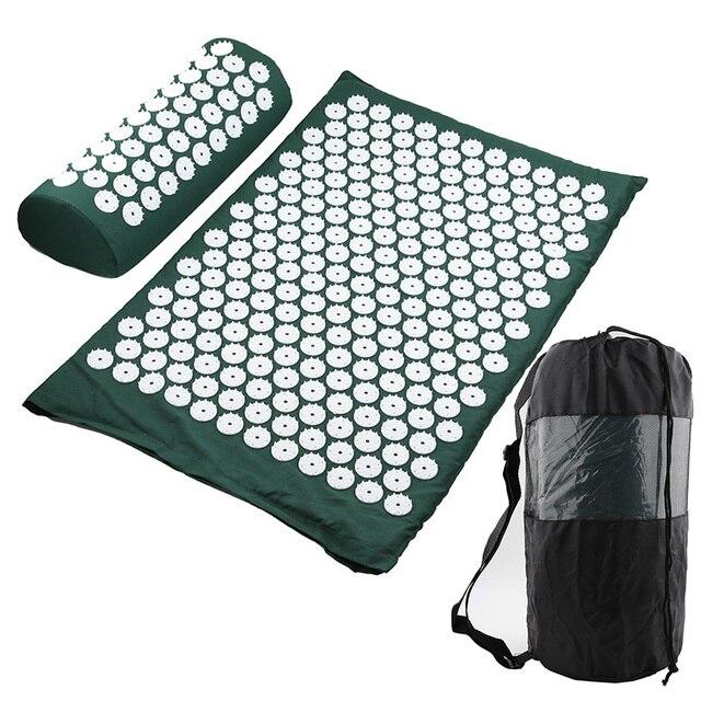 Massager Cushion Massage Yoga Mat Acupressure mat Relieve Stress Back Body Pain Spike Mat Massage Mat 2