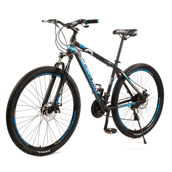 HOT WOLF Высококачественный 29-дюймовый горный велосипед SHIMANO 24 скорости с переменной скоростью   Двухдисковый тормоз из алюминиевого сплава с подвеской