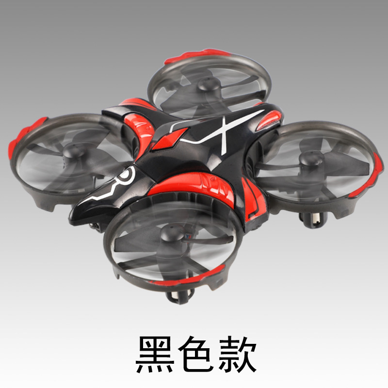 Rh813 Remote Control Mini Four-axis Infrared Sensing 2.4G One-Button Take-off Light Pao Free Interactive Unmanned Aerial Vehicle