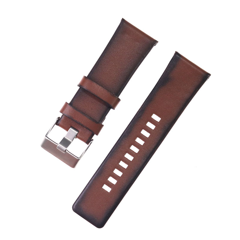 26mm high quality leather strap for Diesel watch strap band bracelet with buckle brown leather chain
