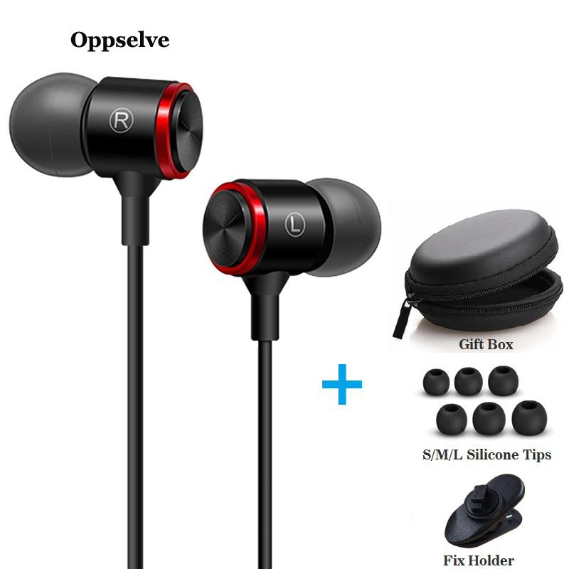 In Ear Headphones For Xiaomi Earphone For Phone Stereo Bass Headset Metal Wired Earphone HiFi Headphones Mic for Samsung iPhone