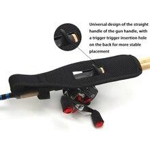 Fishing Gear Bag Nylon Bait Small Waist Black For Motorcycle