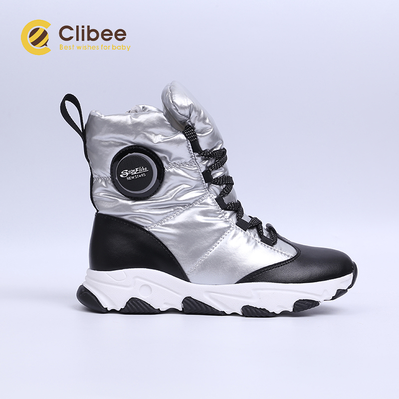 CLIBEE Boys Girls Outdoor Snow Boots Winter Waterproof Slip Resistant Cold  Weather Shoes Children's Warm Hiking Trekking Shoes|Boots| - AliExpress