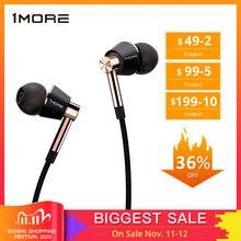 Original E1001 1More Triple Driver In Ear Earphone with microphone for Xiaomi Mi Redmi Samsung Mp3 Earphones Earbuds Earpiece