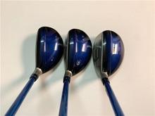 BIRDIEMaKe Golf Clubs MP1100 Hybrid MP1100 Golf Hybrids 18/20/23/26 Degrees R/S/SR Flex MP1100 Shaft With Head Cover