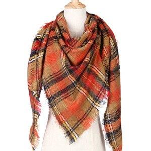 Зимний шарф для женщин, оптовая и розничная продажа, кашемировый шарф и шаль, Женский треугольный шарф, тёплый шарф-шаль, 2020