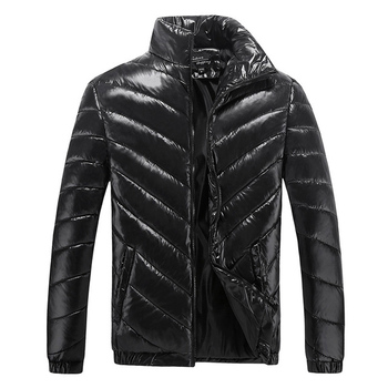 New 2019 Winter Thicken Mens Cotton Down Jackets Fashion Overcoats Casual Classic Coats For Male Plus Size M-5XL QQ008
