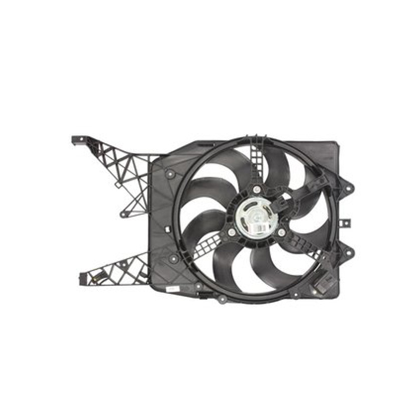For DENSO DER20011 Вент. radiator for Opel Corsa D (405mm. 500 W.) with несущ. Frame 41659 запчасти opel corsa d