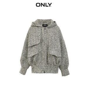 Image 5 - Женское шерстяное пальто с капюшоном, на осень/зиму