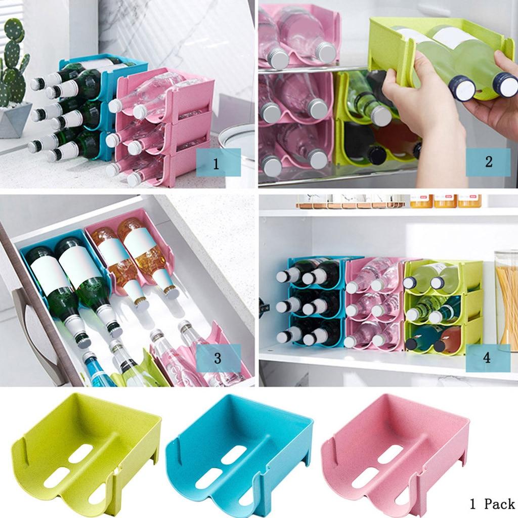 Box Home Storage-Basket Refrigerator Beverage-Organizer-Tool Kitchen Can Hollow-Design
