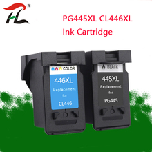 PG-445 CL-446 PG445 CL 446 Compatible PG445XL 445XL ink cartridge for Canon PIXMA MG 2440 2540 2940 MX494 IP2840 printer 1set remanufactured pg445 pg 445 pg445xl ink cartridge pg 445xl cl 446xl for canon ip2840 mx494 mg2440 mg2540 mg2940