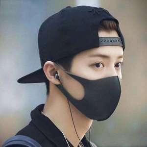 10 шт. маска для рта для лица анти-инфекционный вирус черная маска для рта унисекс защита от пыли маска для рта моющиеся ремешки для дыхания о...