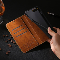 Casos para smartisan porca 3 caso capa de luxo flip negócios carteira couro caso do telefone para smartisan porca 3 coque com suporte cartão