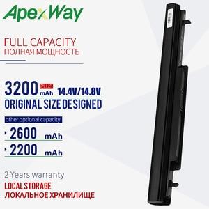 Image 1 - Аккумулятор K56C K56CB 2200 мАч для Asus E46 E46C E46CA E46CB E46CM K46C K46CA K46CB K46CM K46V K56C K56CA K56CB K56CM K56V R405C