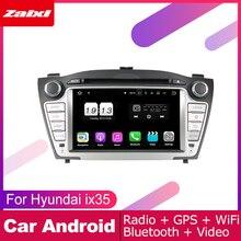 ZaiXi android car dvd gps multimedia player For Hyundai ix35 2009~2015 car dvd navigation radio video audio player Navi Map