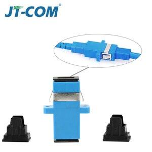 Image 2 - 500 sztuk Hot Adapter telekomunikacyjny złącza światłowodowego SC / UPC SM Kołnierz jednomodowy Simplex SC / APC Adapter złącza światłowodowego SC SC Łącznik Specjalna sprzedaż hurtowa do Brazylii