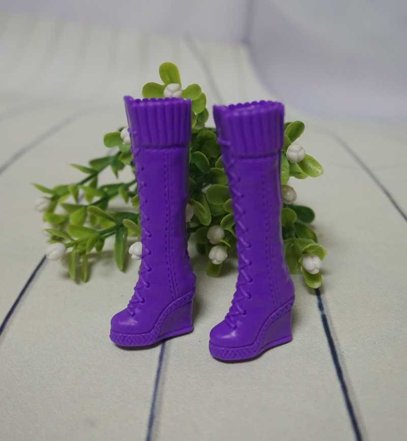 the shoes for 30cm High Replaceable Doll Genuine Accessories Shoes High Heels Fashion Shoes Short Boots Princess Sandals