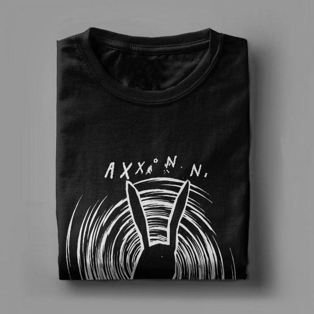 Camiseta cuello redondo David Lynch impresionantes camisetas para hombres Inland Empire Axxonn camiseta de conejos algodón Premium ropa camiseta de manga corta