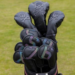 Чехлы с градиентными цифрами для гольфа, железная головка, чехлы на танкетки 4-9 ASPX, 10 шт.