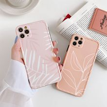 Luxury Leaf Case For iPhone 11 Pro Max 8