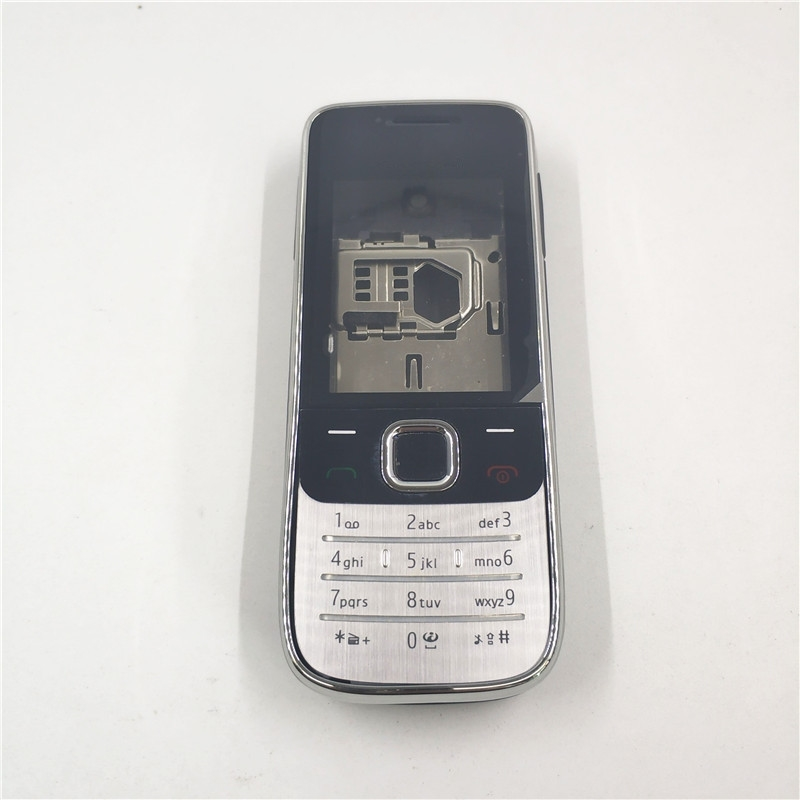 New Full Housing For <font><b>Nokia</b></font> 2730C <font><b>2730</b></font> Front Faceplate Frame Cover Case+Back cover/battery door cover+Keypad image