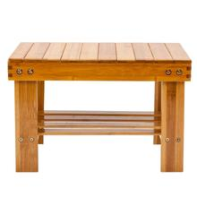 Small Stool Chair Kitchen Stool Children Bench Bamboo Wood Color Household Multi-purpose Stool Free Shipping #4W