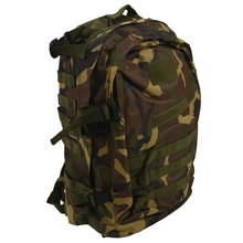 40L Outdoor Military Rucksack Backpack Hiking Camping Trekking Bag - Jungle camouflage