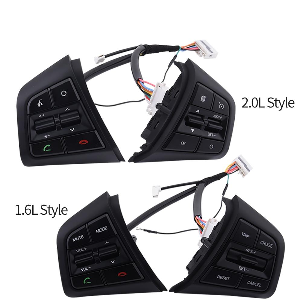 Cruise Control Switch Button Multifunction Steering Wheel Button Cruise Control Switch For Hyundai Ix25 1.6 For Creta 2.0