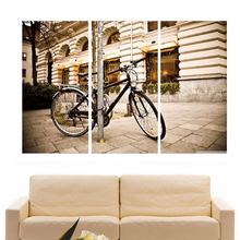 Modern Colorful Photo Picture Hilton Leaks Room Decor 3 Pcs Cities Canvas Art Painting Living Bedroom