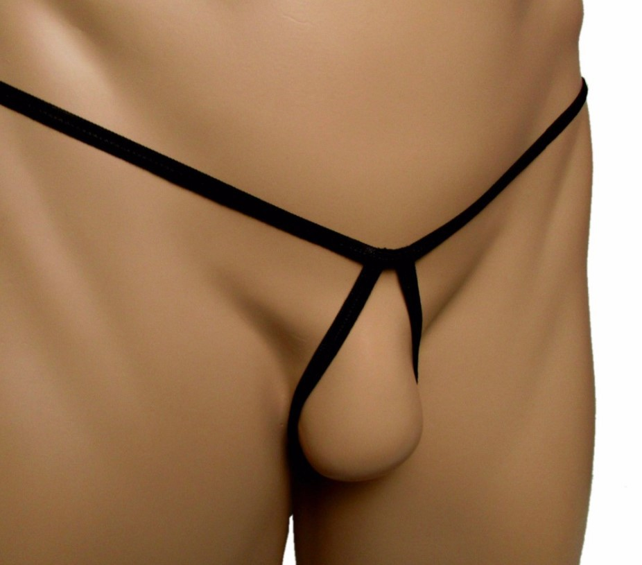 Men's Almost Naked Hot G Strings Open Cortch Breathable Sexy Man Jockstrap Cock Ring Thong Sissy  Underwear