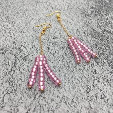 2019 new Ethnic Jewelry Boho Chic Tassel Drop Earrings Women Bohemian Long Tassels 4mm Seed Bead Handmade Fringe Fashion Gifts(China)