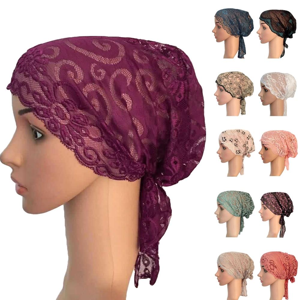 Under Scarf Cotton Muslim Inner Ninja Cap Arab Islamic Hijab Headwear Bonnet Hat