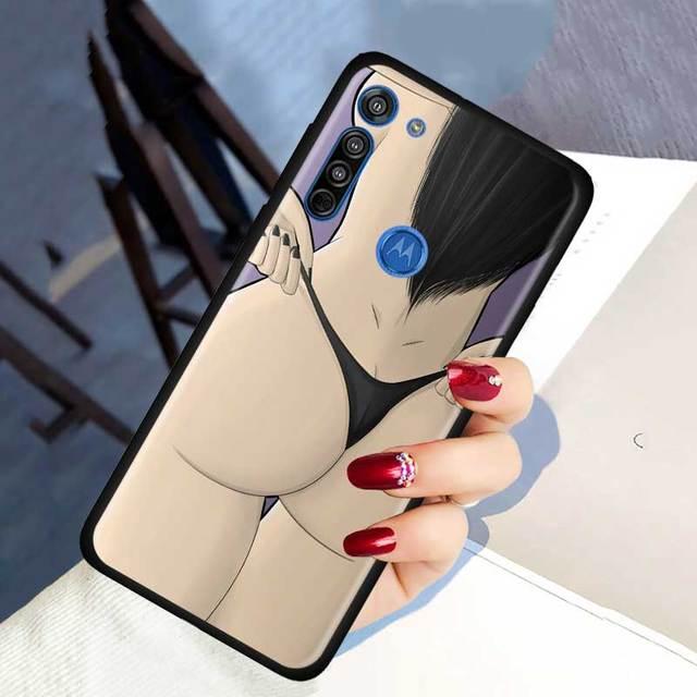 Comme un patron Sexy cul fille Dollars étui pour Motorola G Stylue G8 Power Plus Play Lite One Fusion Hyper GPower E6S Edge Plus coque