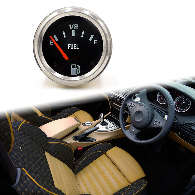 Universial механический автомобильный измеритель уровня топлива Черный Автомобильный измеритель E-1/2-F уровень топлива автомобильный аксессуар