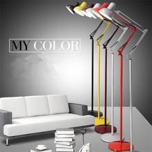 Промышленный пол чердака, лампы для гостиной, спальни, кабинета, лампы для чтения, современный минимализм, тату, вышивка, физиотерапевтические лампы