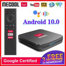 Mecool KM9 Pro ivi Google Certified Androidtv Amlogic S905X2 Android 10.0 TV BOX Dual Wifi 4K Smart Set Top Box Android 10 ATV