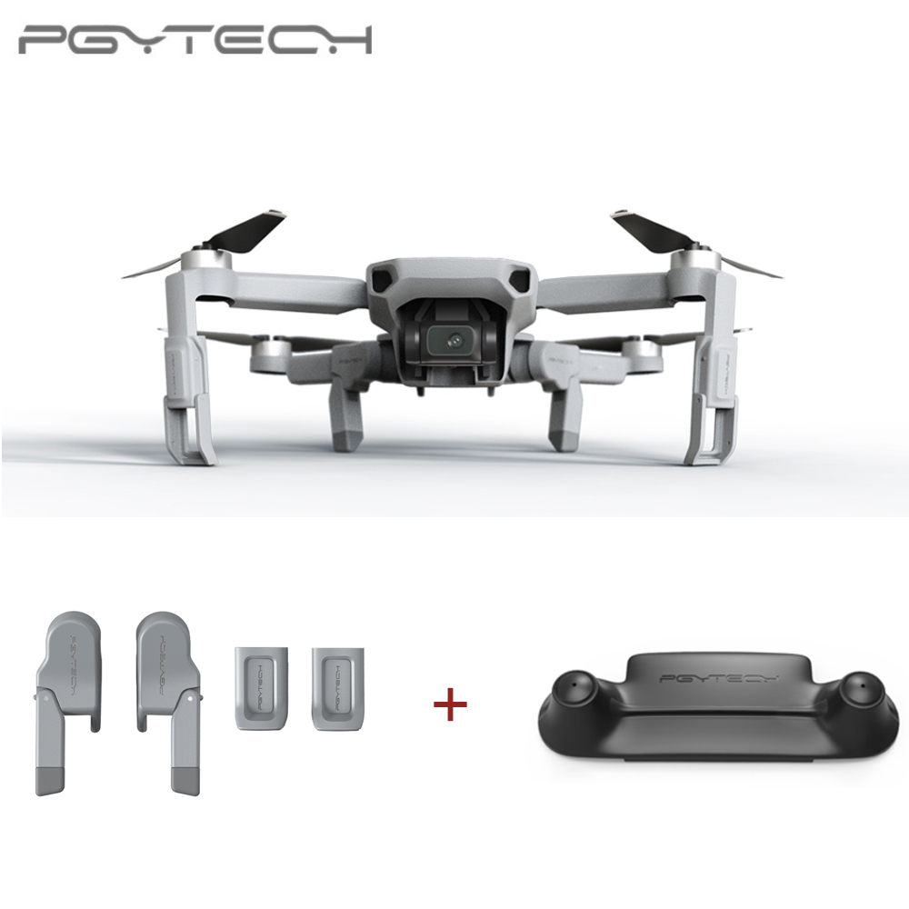 PGYTECH 2PCS For DJI Mavic Mini Landing Gear Extension + Remote Control Guard