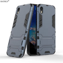 For Cover Huawei Y5 2019 Case Shockproof Armor Back Silicone Phone Fundas 5.71
