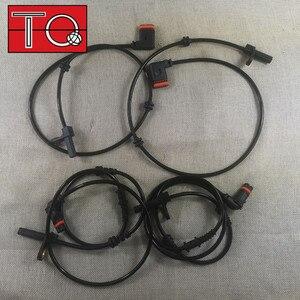 Image 1 - مستشعر سرعة العجلة 4 × ABS ، أمامي وخلفي ، L & R ، مناسب: 2007 2010 W216 W221 2215400317 2215400117 2219055700 ، 2219057100 ، 2ABS1020