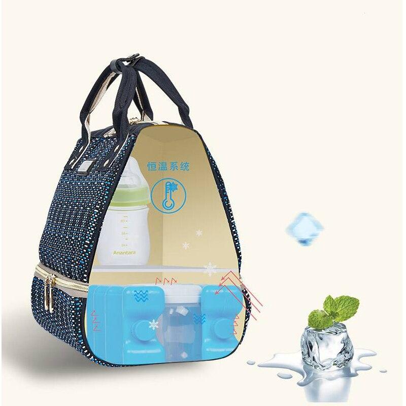 Hbba4405fae8946bdb0997088647767b5R Diaper Bag Backpack For Moms Waterproof Large Capacity Stroller Diaper Organizer Unicorn Maternity Bags Nappy Changing Baby Bag