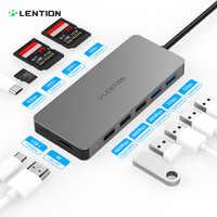 Lention USB HUB zu Multi USB 3.0 HDMI Adapter Dock für MacBook Pro 13,3 Zubehör USB-C Typ C 3,1 Splitter 11 port USB C HUB