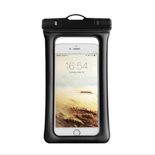 Rsionch Waterproof Phone Case for iPhone Samsung Clear PVC Sealed Underwater Phone Pouch Cover Bag for Smartphone Universal on tteoobl t 02l universal waterproof pvc phone bag black