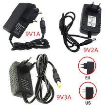 Адаптер питания постоянного тока 9 в 1a 2a 3a Регулируемый адаптер