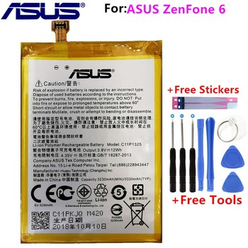 100% Original 3330mAh New C11P1325 Battery A600CG T00G A601CG Lithium Polymer for ASUS ZenFone 6