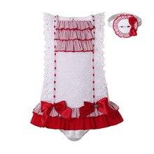 Детский жаккардовый комплект Pettigirl, брендовая одежда для новорожденных, мягкое жаккардовое платье для вечерние, летняя одежда 3 в 1, повязка ...