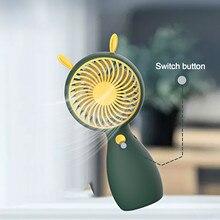 Fan Handheld Hot-Sale Mini Portable New Cute Student -4 4-Colors Lanyard Usb-Charging