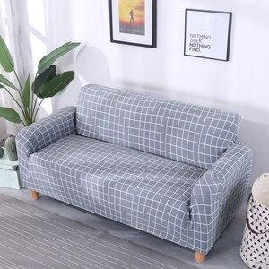 Универсальные чехлы для диванов для гостиной, хлопковые эластичные чехлы для диванов, угловые чехлы для диванов, чехлы для мебели, кресла, д...