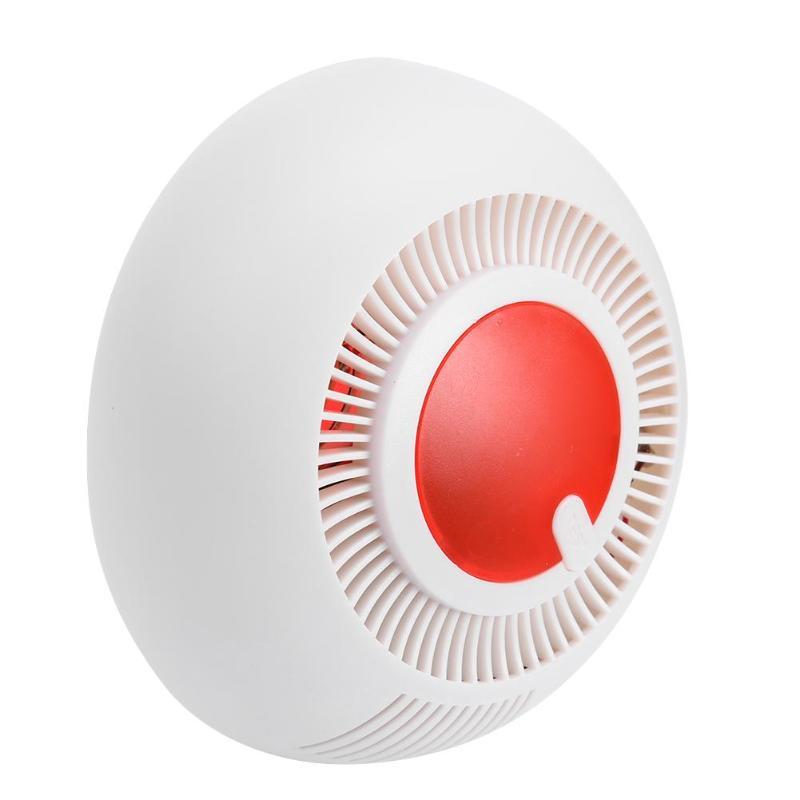 Smoke Detector Fire Sensor Alarm Wireless Home Security Sensitive Alarm Infrared Photoelectric Sensor Sound Light Alarm
