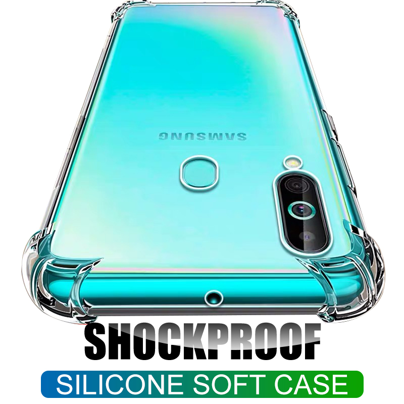 Silicone-Case Airbag Shockproof Transparent Samsung A8 A6 Plus for A7 A9 A3 A5 with Tpu