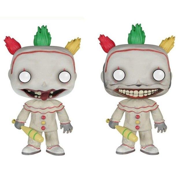 FUNKO POP American Horror Story: Freak Show Clown 243# Bette and Dot Pepper Elsa Vinyl Action Figure Toys Models for Kids Gifts 2